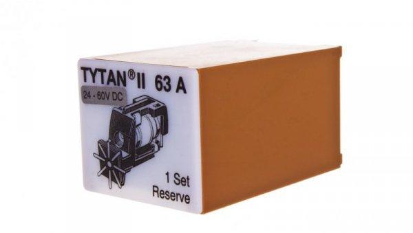 Wtyk bezpiecznikowy D02/gG/63A/400V Z-SLS/B/24-63A z sygnalizacją 269004 (3szt.)