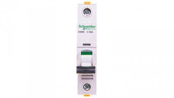 Wyłącznik nadprądowy 1P C 50A 6kA AC iC60N-C50 A9F04150
