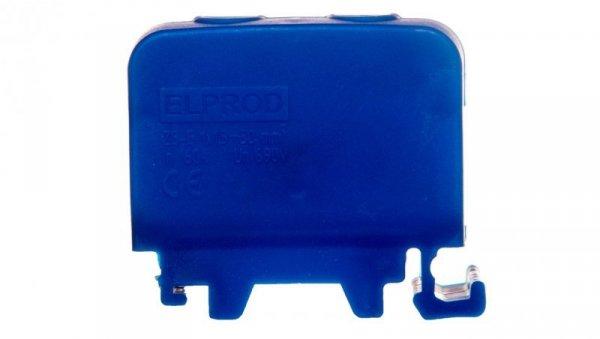 Złączka szynowa 1-przewodowa 50mm2 niebieska ZGG1x1,5-50n 84285003