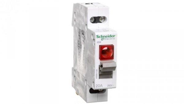 Rozłącznik modułowy 20A 1P z lampką sygnalizacyjną iSW A9S61120