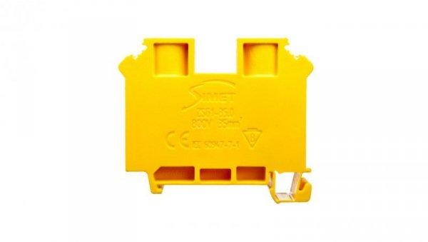 Złączka szynowa gwintowa 2-przewodowa 35mm2 żółta ZSG1-35.0 12701314
