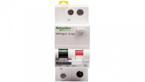 Wyłącznik różnicowo-nadprądowy 2P 10A B 0,03A typ A DPN Vigi K A9D23610