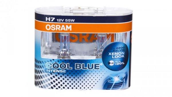 Żarówka samochodowa H7 55W COOL BLUE 64210CBI-DUO 4052899413085