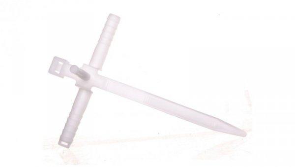 Uchwyt paskowy szybkiego montażu z kołkiem 85mm biały USMPK-8 /50szt./