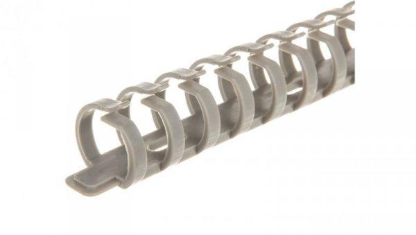Uchwyt kablowy grzebieniowy KE 20 szary E02KK-01020100101