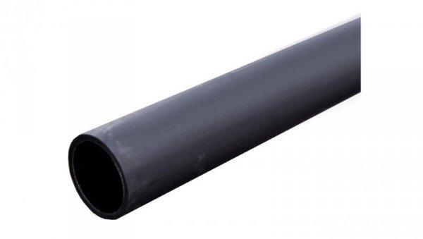 Rura osłonowa gładka kielichowa czarna 50mm UV 50X4 /3m/