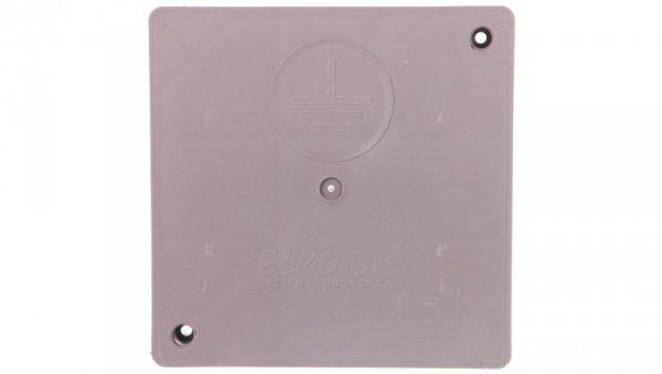 Pokrywa górna 300x300x33mm do obudowy złącza kontrolnego do gruntu PCV 50.A /95010108/