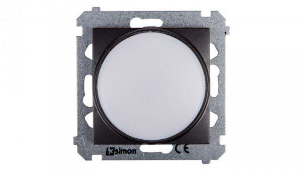 Simon 54 Sygnalizator świetlny LED białeświatło antracyt DSS1.01/48