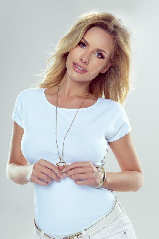 Bluzka Model Alva White - Eldar
