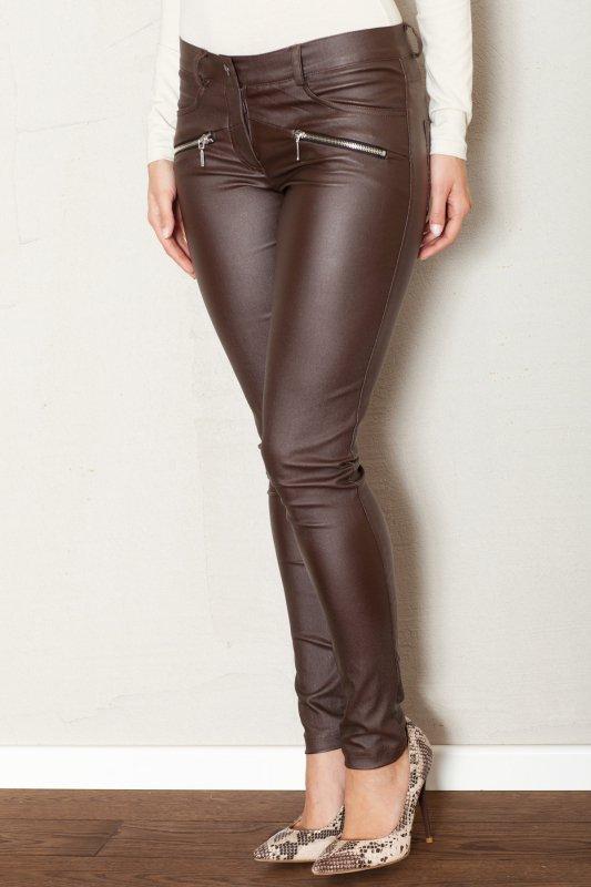 Spodnie Damskie Model 361 Brown - Figl
