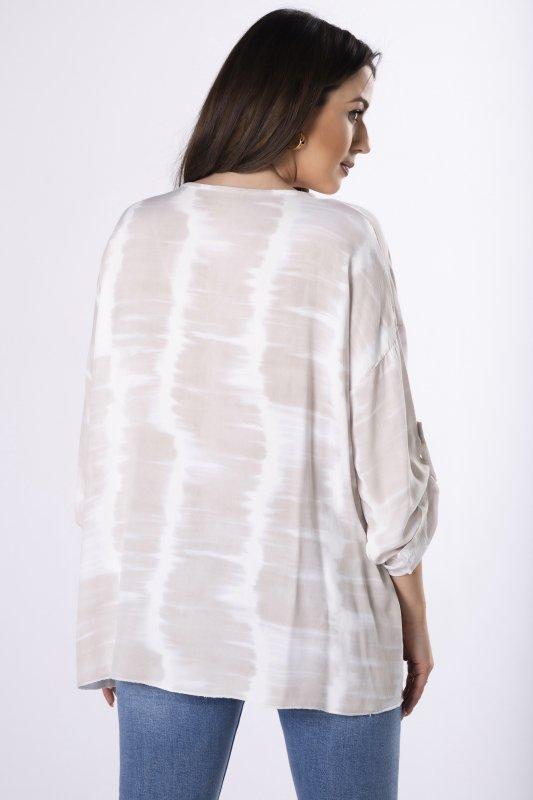 dekatyzowana bluzka z aplikacją