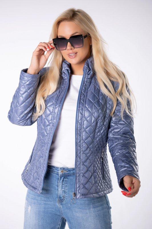 casualowa kurtka z pikowaniem