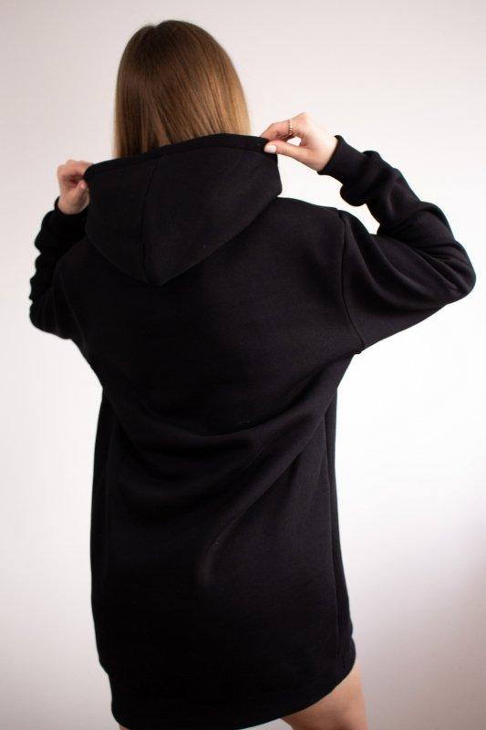długa bluza z wiązaniem