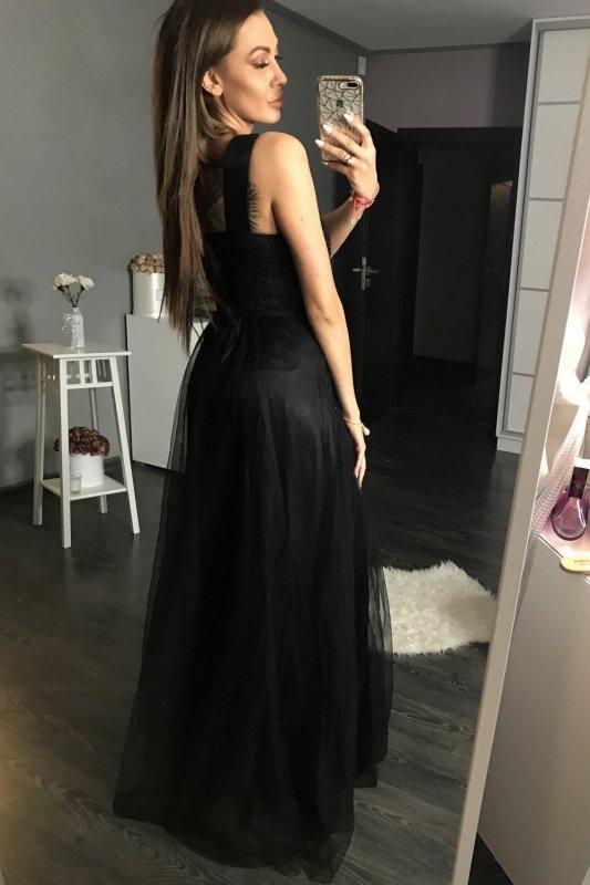 Sukienka Wieczorowa Model 17774 Black - YourNewStyle