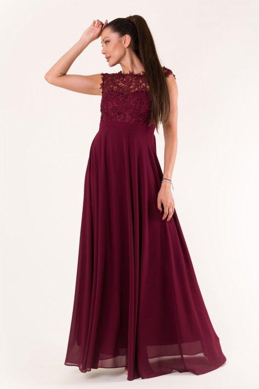 Sukienka Model 18485 Oberżyna - YourNewStyle