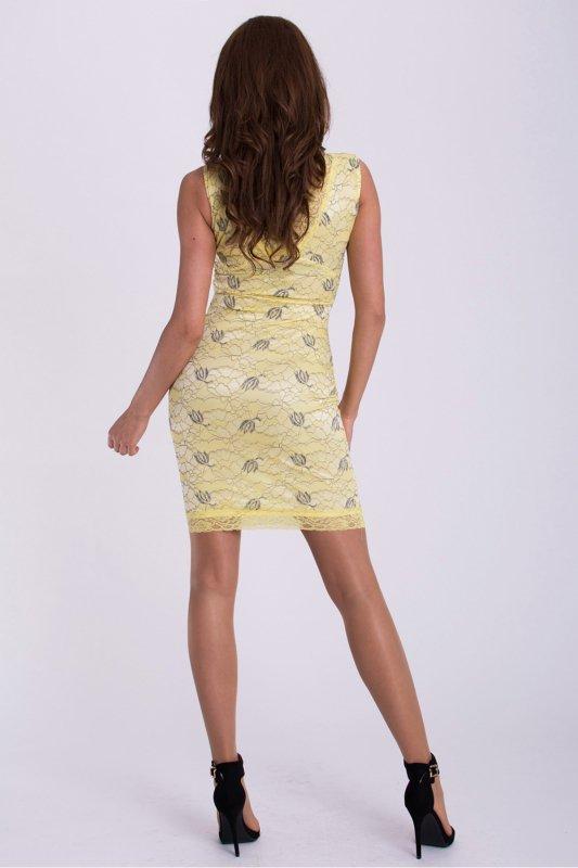 Sukienka Model 17126 Cytryna - YourNewStyle