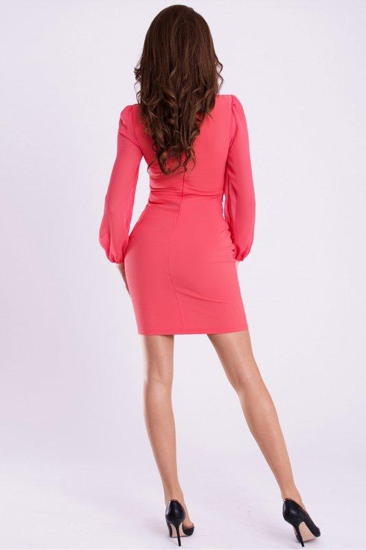 Sukienka Model 16998 Malina - YourNewStyle