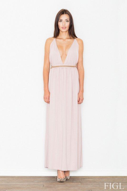 Sukienka Model M483 Light Pink - Figl