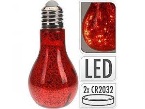 Żarówka LED 22cm czerwona 20LED