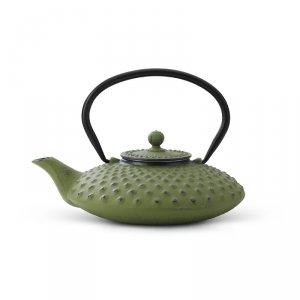 Dzbanek żeliwny do herbaty Xilin 0,8L - zielony / Bredemeijer
