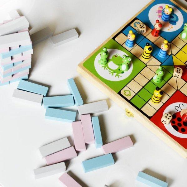 Drewniana Gra Jenga - PolarB - Viga Toys