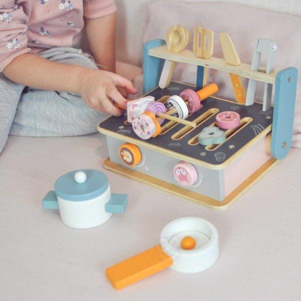 Drewniana Składana Kuchenka i Grill - Viga Toys