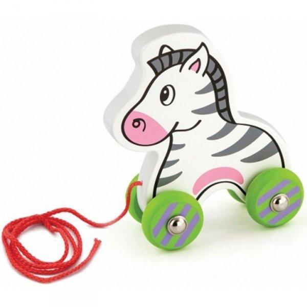 Drewniana Zebra do ciągnięcia - Viga Toys