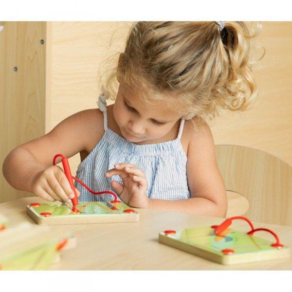 Tabliczki Magnetyczne Nauka Pisania Małe Literki - Viga Toys