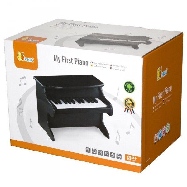 Moje pierwsze pianinko czarne - Viga Toys