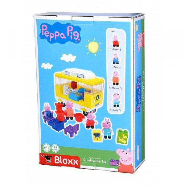 Klocki Big Bloxx Świnka Peppa Kamper + 4 figurki 54 elem.