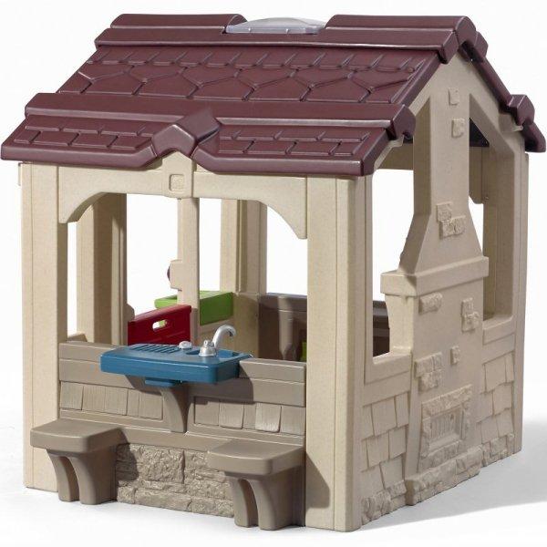 Step2 Domek Ogrodowy z Ławeczkami Dla Dzieci