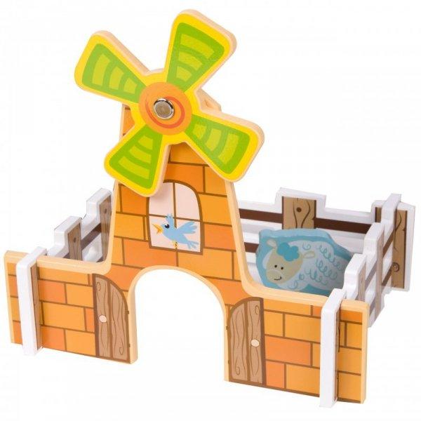 Kolejka Dla Dzieci Drewniana Zestaw Farma - Classic World