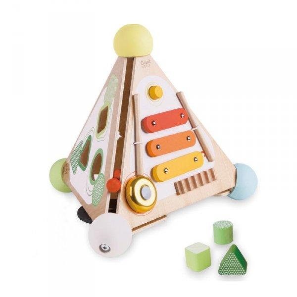 Piramida Aktywności Activity Box 4w1 CLASSIC WORLD