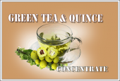 KONCENTRAT GREEN TEA & QUINCE 10 ML