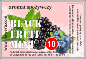 Aromat Czarne owoce - mięta 10 ML