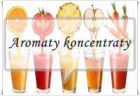 Aromaty koncentraty