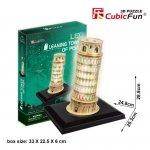 Cubic Fun Puzzle 3D Krzywa Wieża Pisa (Światło)