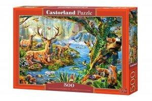 Castor Puzzle 500 elementów Leśne życie