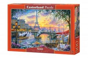 Castor Puzzle 500 elementów - Czas na herbatę w Paryżu