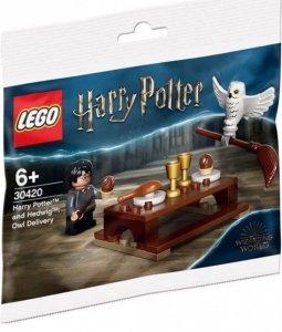 Klocki Harry Potter i Hedwiga 30420: przesyłka dostarczona przez sowę