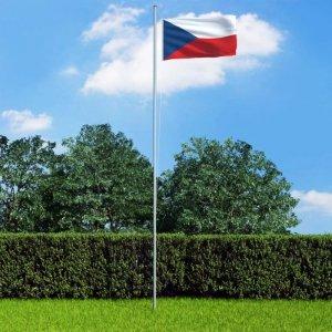 Flaga Czech, 90x150 cm