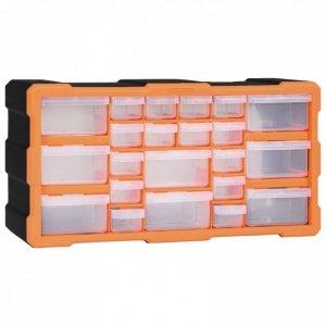 Organizer z 22 szufladkami, 49x16x25,5 cm