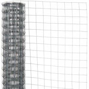 Nature Siatka z drutu, kwadratowa 0,5x2,5 m, 13 mm, galwanizowana stal