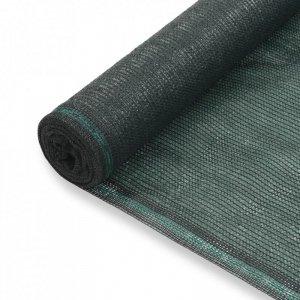 Siatka ochronna do kortu tenisowego, HDPE, 1,2x50 m, zielona
