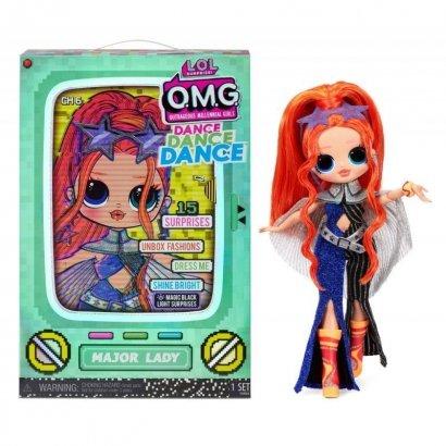 Lalka L.O.L. Surprise OMG Dance Doll, Major Lady