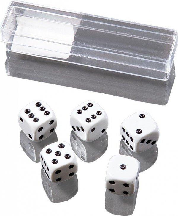 Piatnik Kości do gry małe 5 sztuk