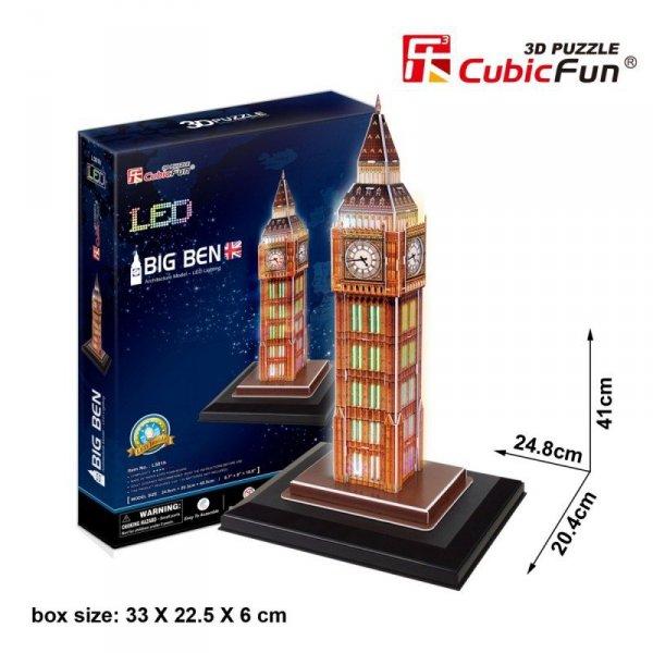 Cubic Fun Puzzle 3D Zegar Big Ben (Światło)