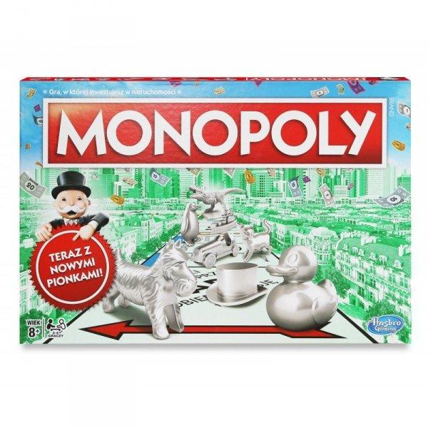 Hasbro Gra Monopoly Classic