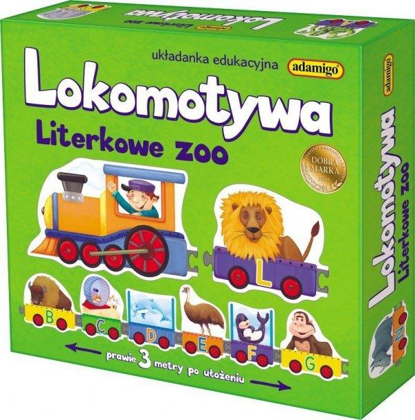 Adamigo Lokomotywa - Literkowe ZOO