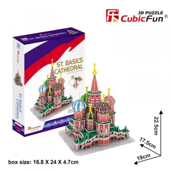 Puzzle 3D Katedra Św. Piotra 46 elementów